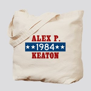 Vote Alex P Keaton 1984 Tote Bag