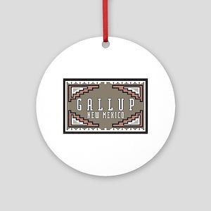 Gallup, New Mexico Ornament (Round)