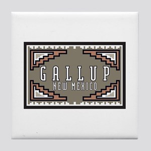 Gallup, New Mexico Tile Coaster