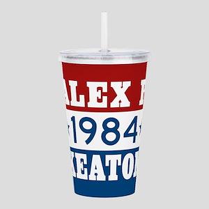Vote Alex P Keaton 198 Acrylic Double-wall Tumbler
