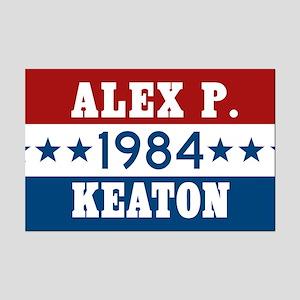 Vote Alex P Keaton 1984 Mini Poster Print
