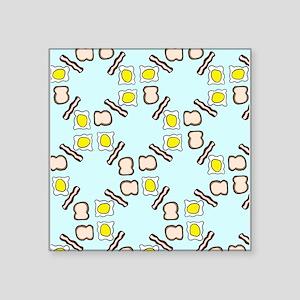Breakfast pattern Sticker