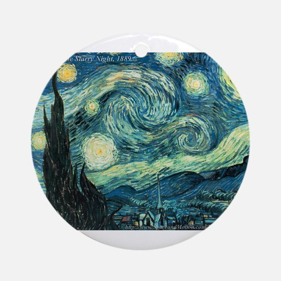 Art Gallery Ornament (Round)