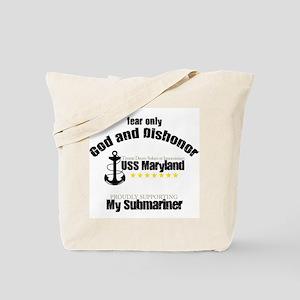 USS Maryland Tote Bag