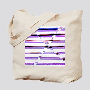 Crossed Out Lines Tote Bag