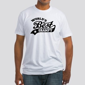 World's Best Grampy Ever Fitted T-Shirt