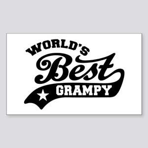 World's Best Grampy Ever Sticker (Rectangle)