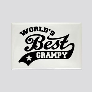 World's Best Grampy Ever Rectangle Magnet