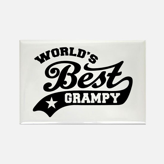 World's Best Grampy Ever Rectangle Magnet