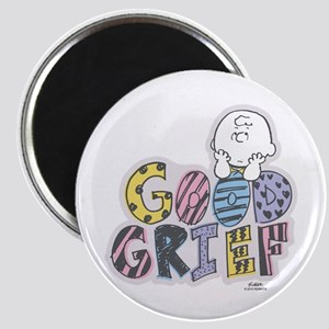 Charlie Brown Good Grief Magnets