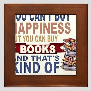 Books Rock Framed Tile