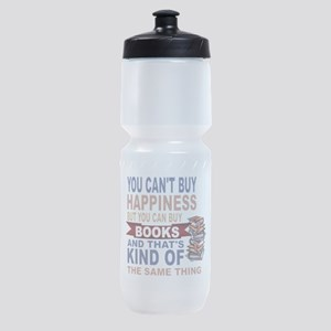 Books Rock Sports Bottle