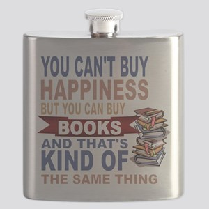 Books Rock Flask