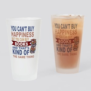 Books Rock Drinking Glass
