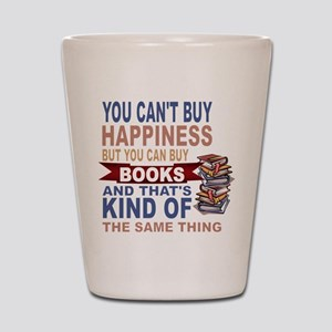 Books Rock Shot Glass