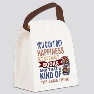 Books Rock Canvas Lunch Bag