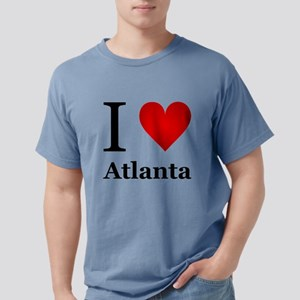 I Love Atlanta Mens Comfort Colors Shirt