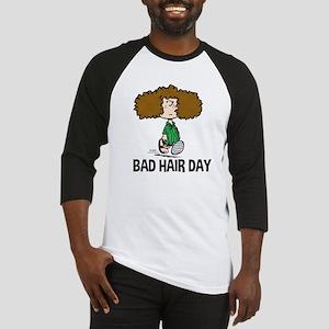 Peppermint Patty Bad Hair Day Baseball Jersey