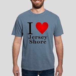 I Love Jersey Shore Mens Comfort Colors Shirt