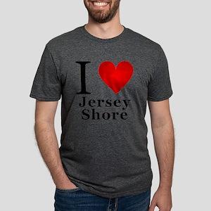 I Love Jersey Shore Mens Tri-blend T-Shirt