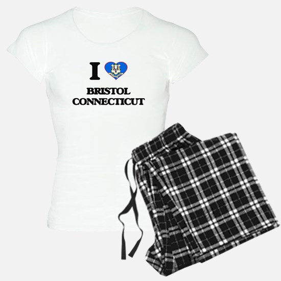 I love Bristol Connecticut Pajamas