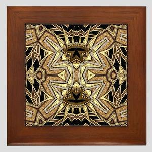 Art Deco May #1 Framed Tile