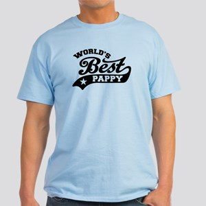 World's Best Pappy Ever Light T-Shirt