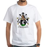 Steinmann Family Crest White T-Shirt
