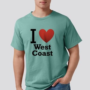 i-love-west-coast-light Mens Comfort Colors Sh