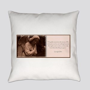 Angel Quote Everyday Pillow