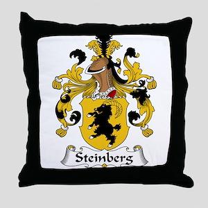Steinberg Family Crest Throw Pillow