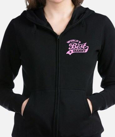 World's Best Grammy Women's Zip Hoodie