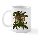 Optimist - Pessimist Acorns Mug