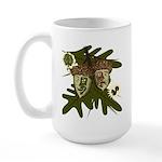Optimist - Pessimist Acorns Large Mug