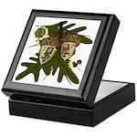 Optimist - Pessimist Acorns Keepsake Box