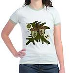 Optimist - Pessimist Acorns Jr. Ringer T-Shirt