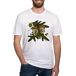 Optimist - Pessimist Acorns Fitted T-Shirt