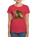 Optimist - Pessimist Acorns Women's Dark T-Shirt