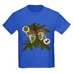 Optimist - Pessimist Acorns Kids Dark T-Shirt