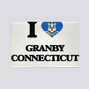 I love Granby Connecticut Magnets