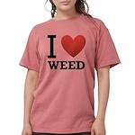 i-love-weed Womens Comfort Colors Shirt