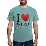 i-love-weed Mens Comfort Colors Shirt