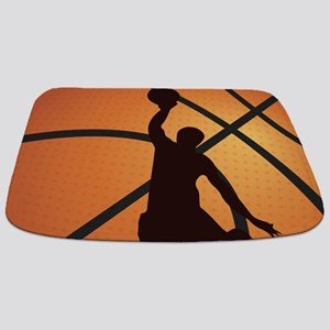 Basketball dunk Bathmat