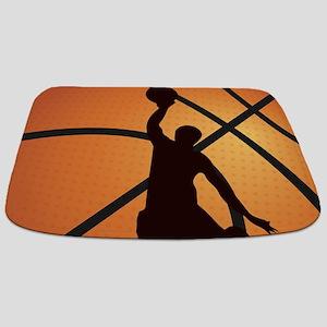 Basketball dunk Bathmat