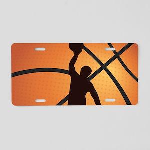 Basketball dunk Aluminum License Plate