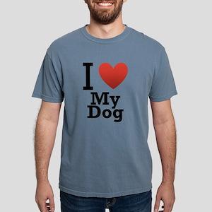 i-love-my-dog Mens Comfort Colors Shirt