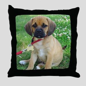 Puggle Throw Pillow