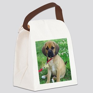 Puggle Canvas Lunch Bag