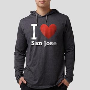 i-love-san-jose-2 Mens Hooded Shirt