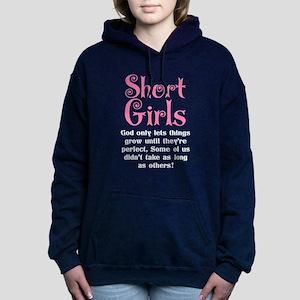 SHORT GIRLS Women's Hooded Sweatshirt